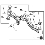 John Deere Model X360 Lawn and Garden Tractor Parts, Page 2