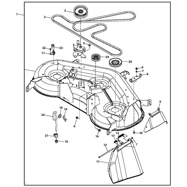 John Deere La145 Lawn Mower Belt Diagram, John, Free