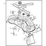John Deere 48-inch Mower Deck Rebuild Kit (Years 2002 thru