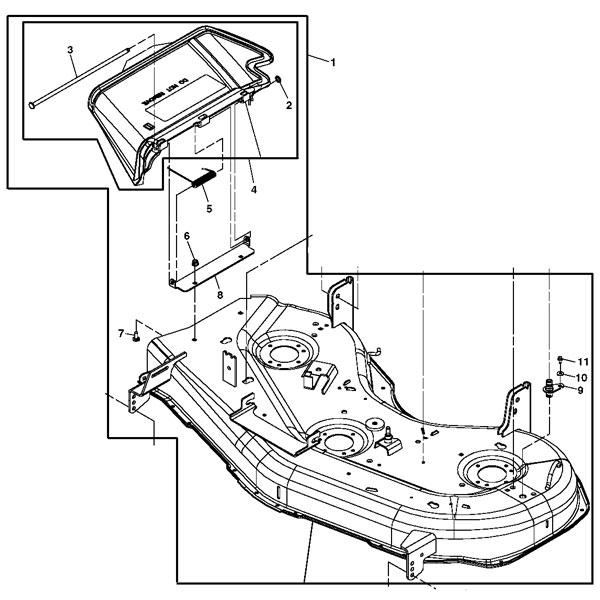 John Deere Z425 Diagram Extenion Spring. John Deere