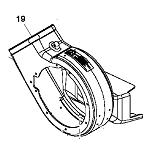 Parts for BM24514 Power Flow blower for John Deere 60HC mower