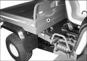 John Deere Model XUV 620i Gator Parts