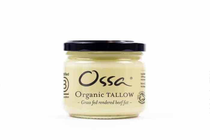 Organic Grass-fed Tallow