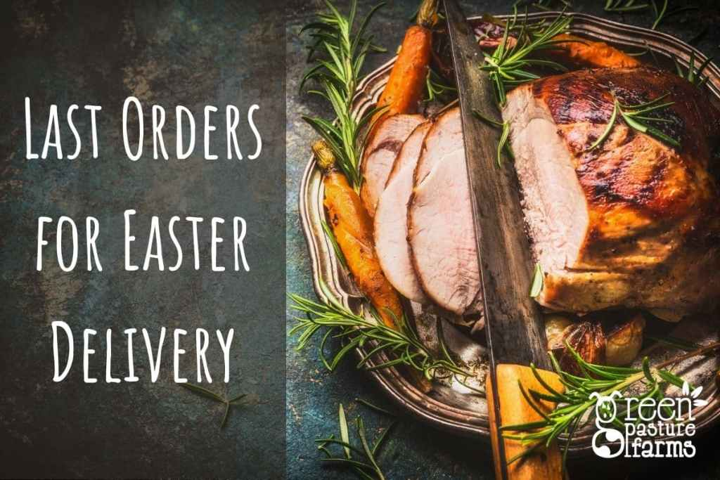 Last Orders for Easter