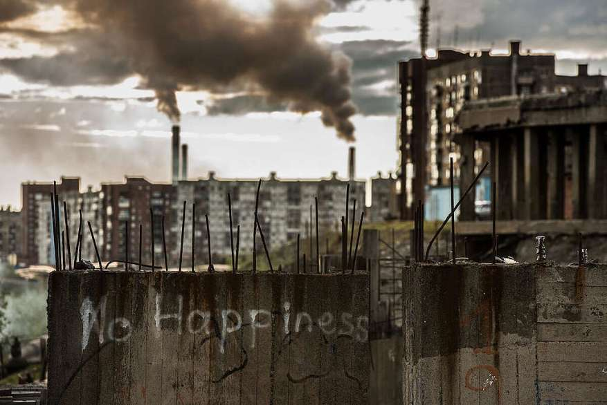 Норильск: люди, пейзажи, будни.  © Гринпис / Дмитрий Шаромов