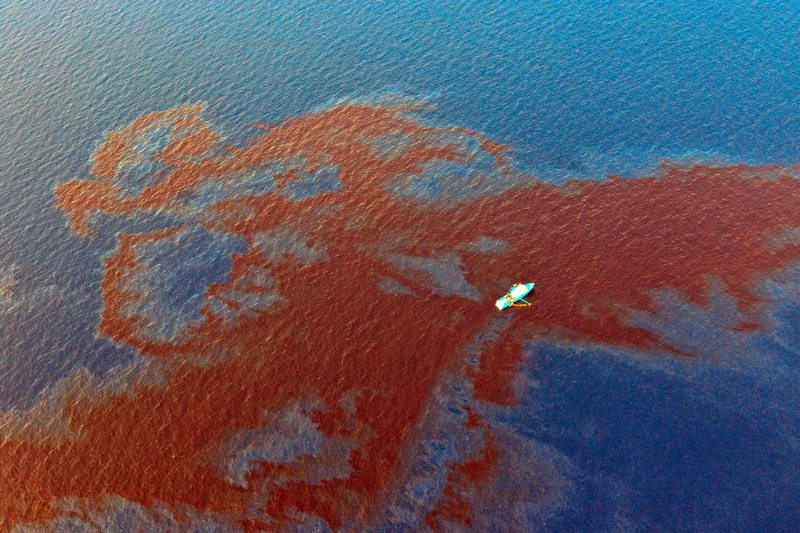 Shell Gulf Oil Leak