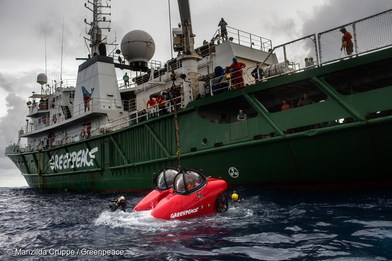 Submarine Dive Launch in the AmazonPreparos Para o Mergulho do Submarino