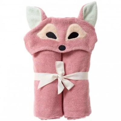 Organic hooded towel fox