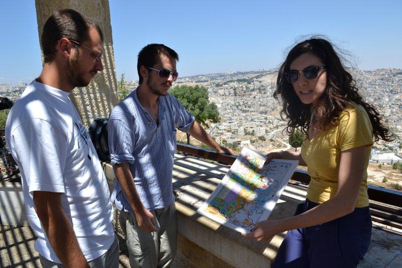 Overlooking East Jerusalem