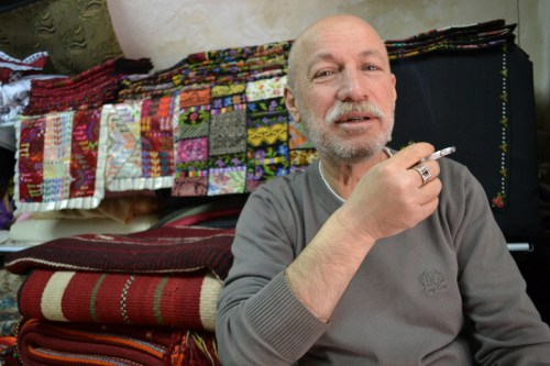 Jamal, shopkeeper in Hebron's old city (David Kattenburg)