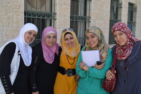 Al-Quds University students, occupied East Jerusalem