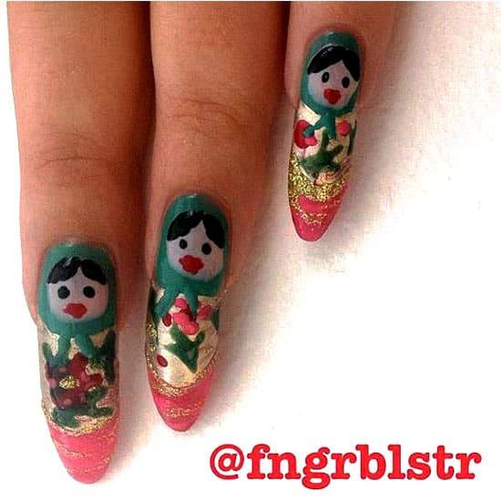 nail art at Freckle Salon