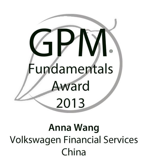 2013 GPM Fundamentals Award