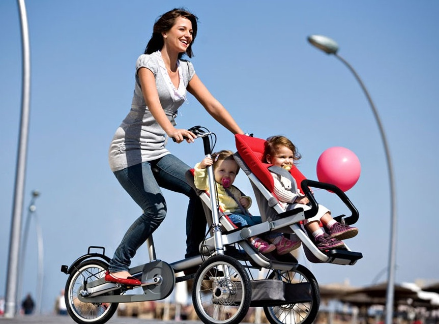 The Taga Hybrid BikeStroller Goes from Road to Whole Foods Shopping in 30s Flat  Green Prophet
