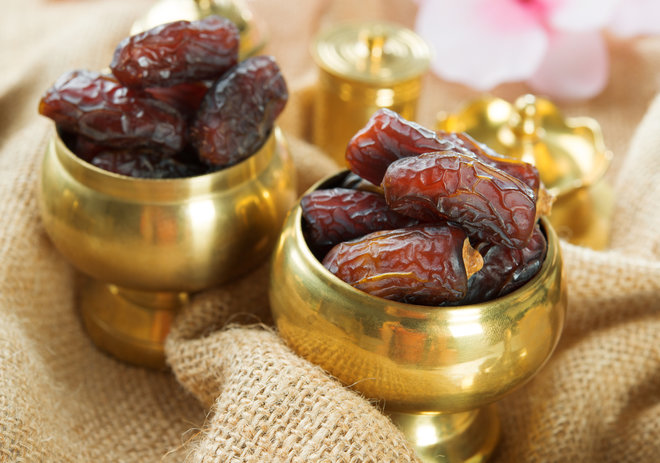 freshly dried dates