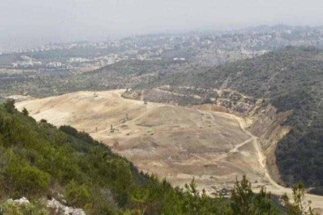 lebanon's largest landfill