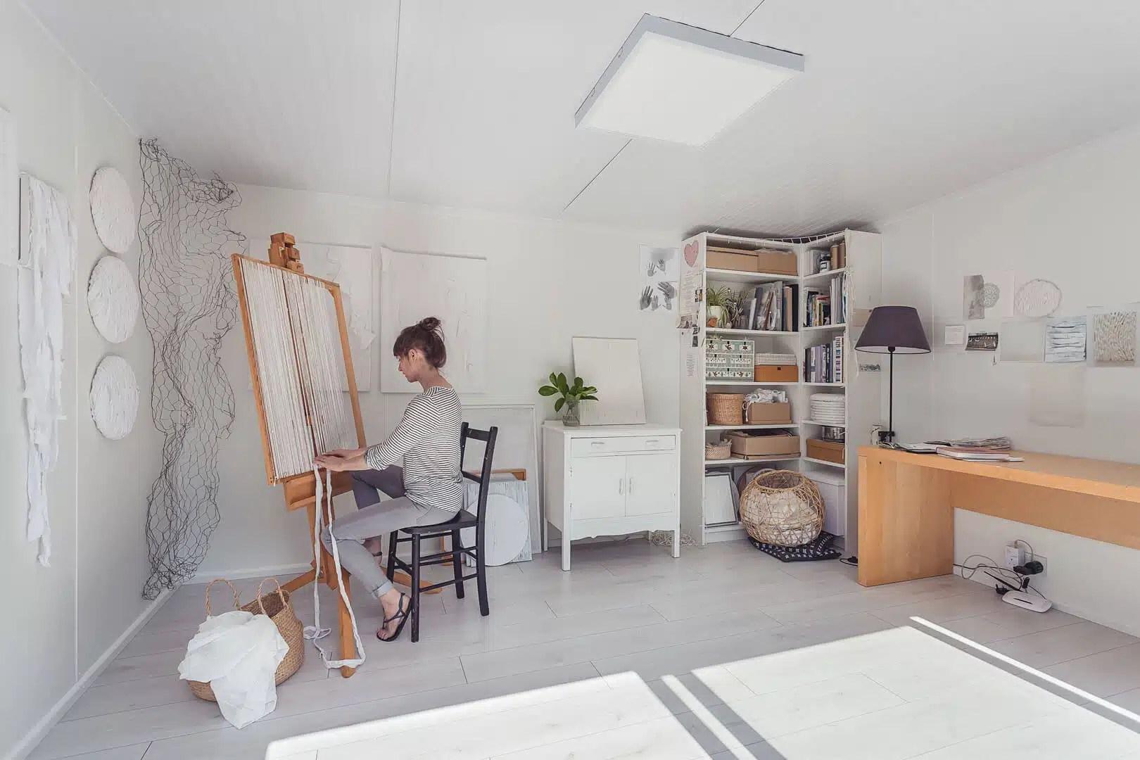 4m X 3m Minimalistic Art Studio Green Retreats