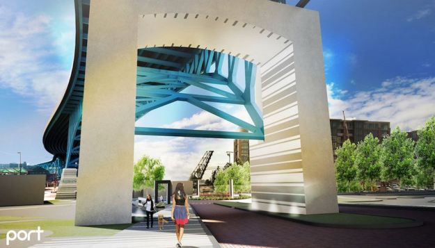 Main Avenue Connector design proposal