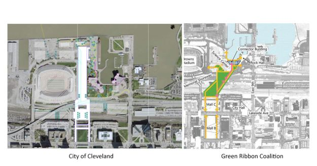 Land Bridge - City of Cleveland and GRC ideas