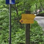 Sentiero 237 - Bivio di partenza, segnaletica