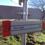 Sentiero 283 - Segnavia a Pian di Rolla