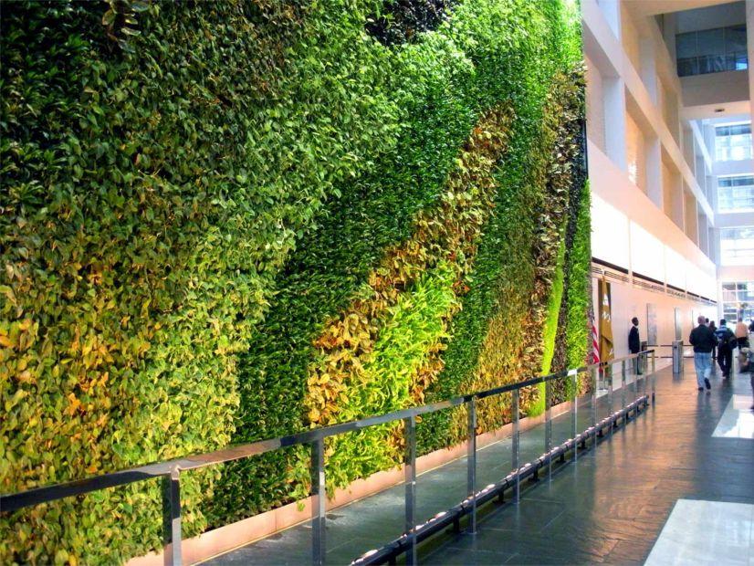 23Story Atrium Living Wall  Greenroofscom