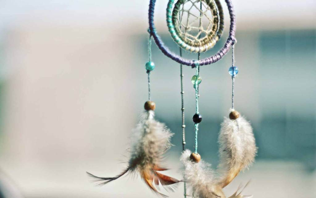 A dream catcher to symbolise a how-to make your dreams come true