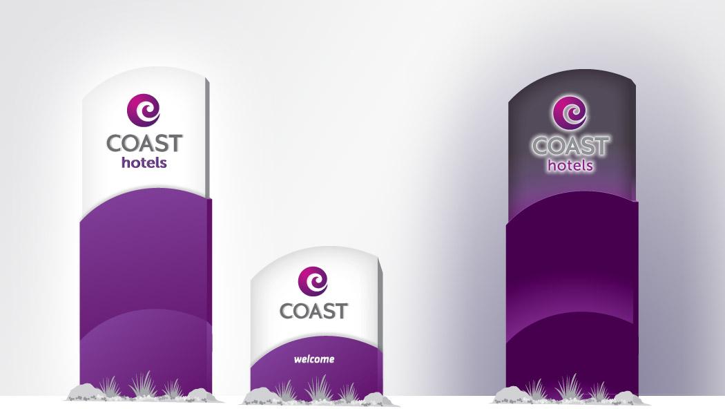 Coast Hotels Signage