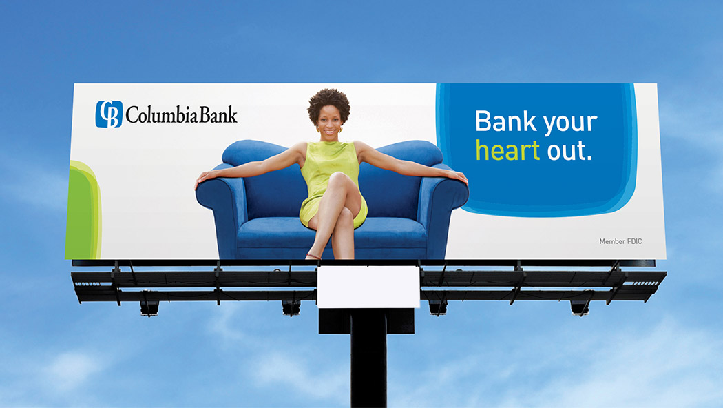 Columbia Bank  Pull Up A Loveseat Lets Talk Banking