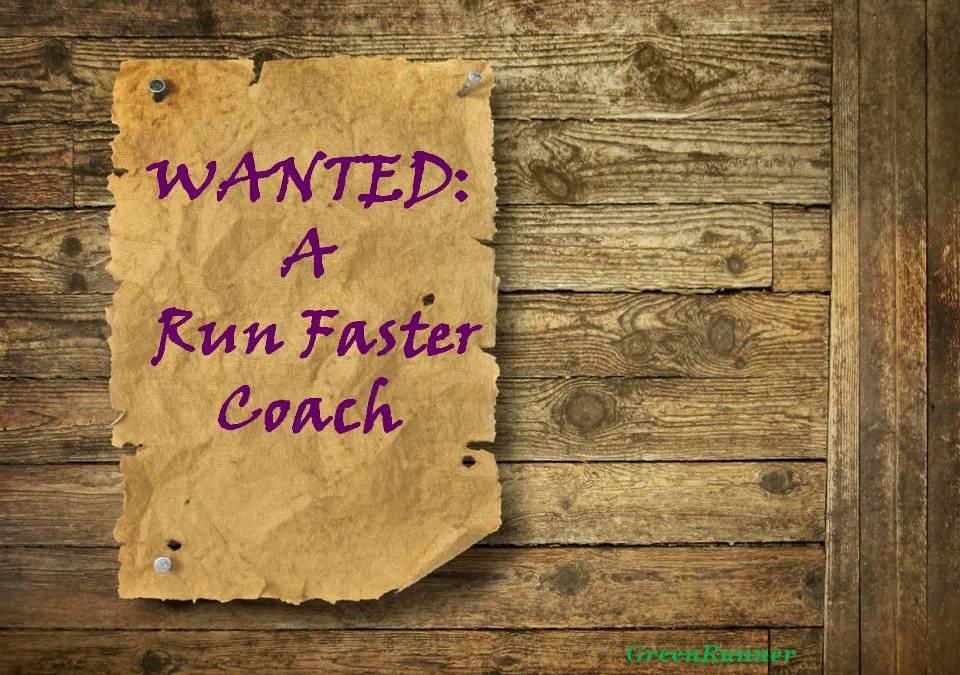 Get a Run Faster Coach