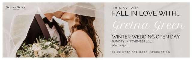 Winter Wedding Open Day 2019