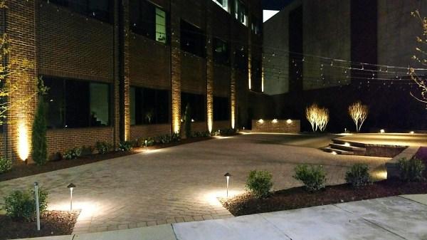 commercial landscape lighting design