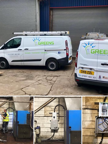commercial electricians cardiff