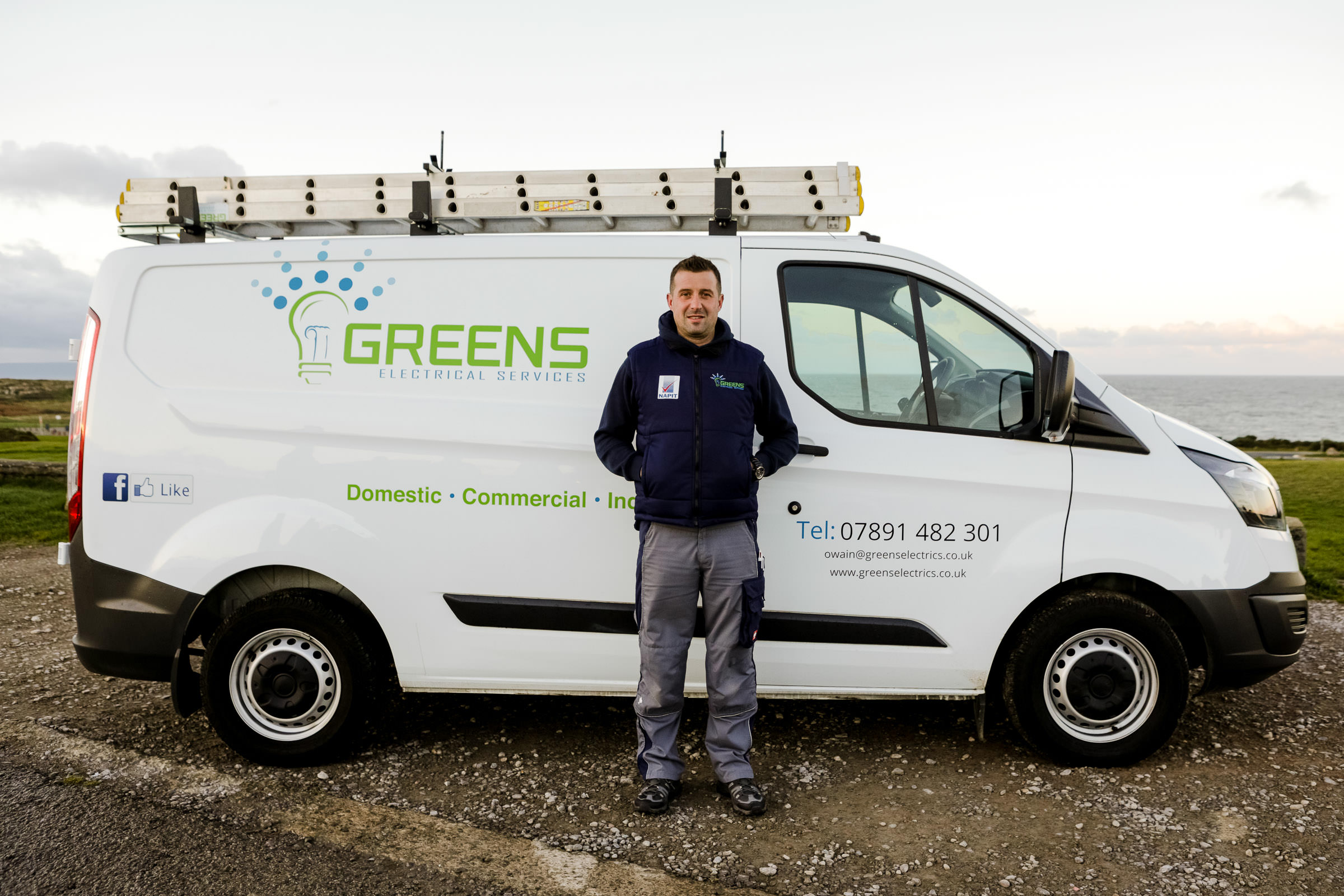 Owain Green - Greens Electrical Services