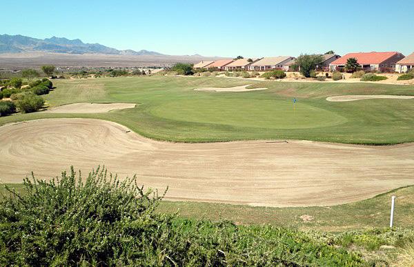 Casablanca Golf Club Mesquite Nevada. Hole 18