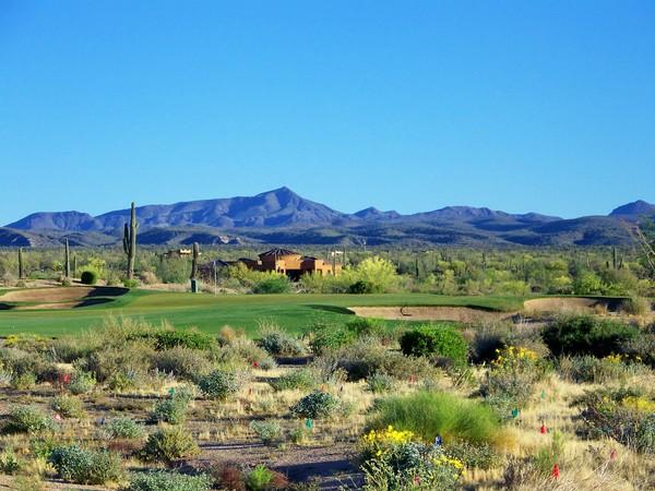 Verde River Golf & Social Club Rio Verde, Arizona Hole 2 Par 3