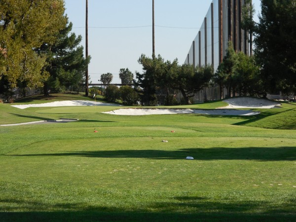 Rio Hondo Golf Club Downey California. Hole 17 Par 3