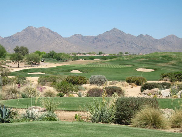 TPC Scottsdale (STADIUM) Scottsdale Arizona Hole 16 Par 3