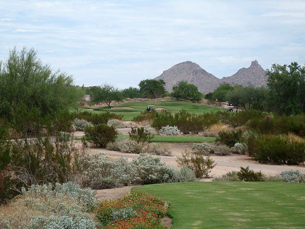 Grayhawk Golf Club TALON Scottsdale Arizona. Hole 16 Par 4