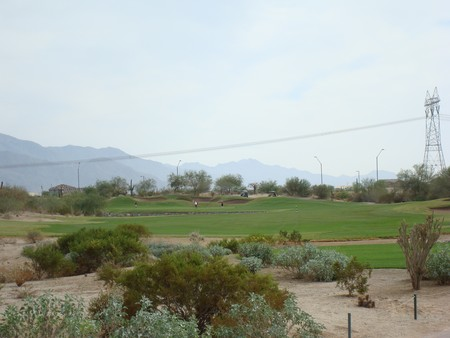 Golf Club of Estrella Goodyear Arizona. Hole 5