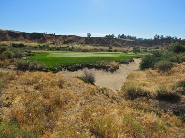 Rustic Canyon Golf Course Moorpark California. Hole 15