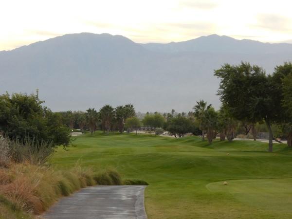 Eagle Falls Golf Course Indio California. Hole 18