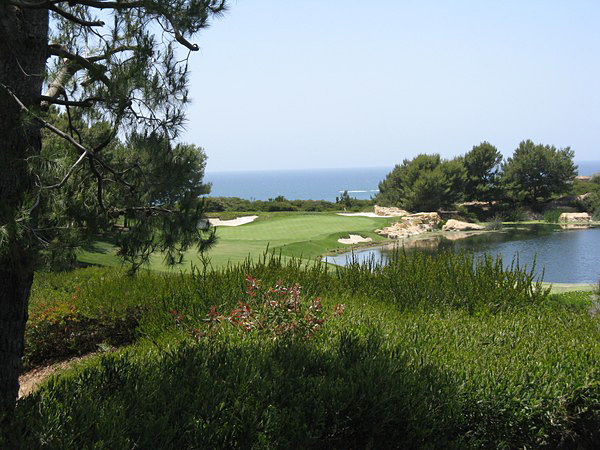 Pelican Hills Resort SOUTH Course Newport Beach California Hole 7