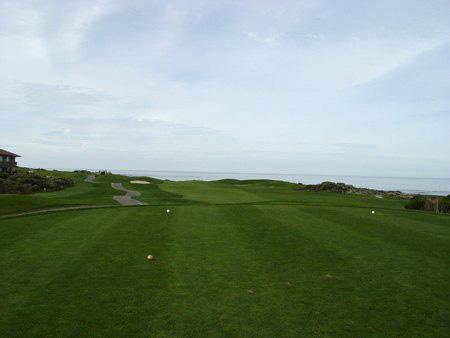 Spanish Bay Golf Links Pebble Beach, California. Hole 1 Tee Box