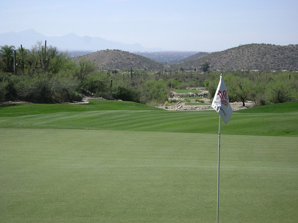 The Lodge at Ventana Canyon Tucson Arizona Hole 4 Looking back