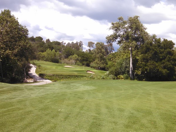 Tijeras Creek Golf Club Rancho Santa Margarita California. Hole 17