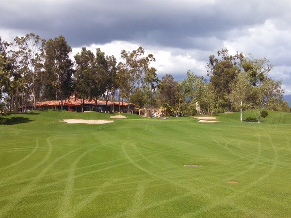 Tijeras Creek Golf Club Rancho Santa Margarita California. Hole 18 Par 4