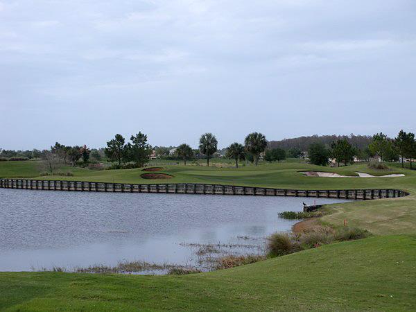 Eagle Creek Golf Club Orlando Florida Hole 17 Par 3