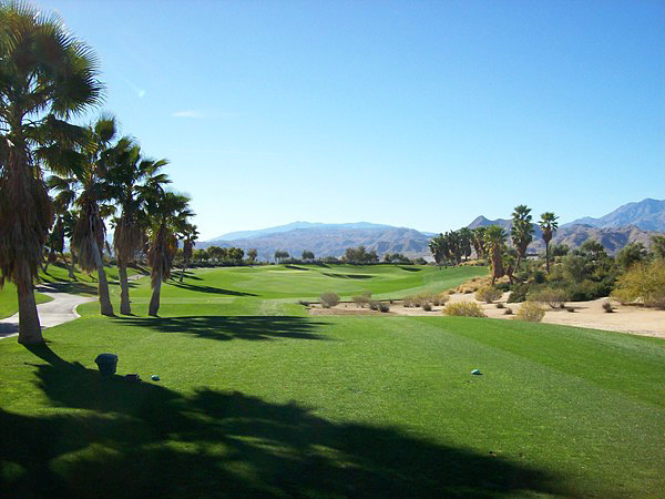 Escena Golf Club Palm Springs California Hole 12