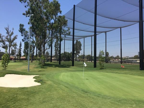 Don Knabe Golf Center & Junior Academy Norwalk California Hole 4